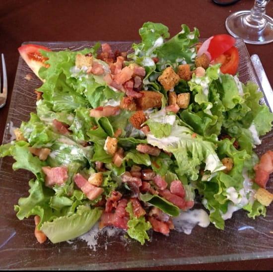 Entrée : Restaurant des Voyageurs  - Entrée menu à 15€ salade paysanne -