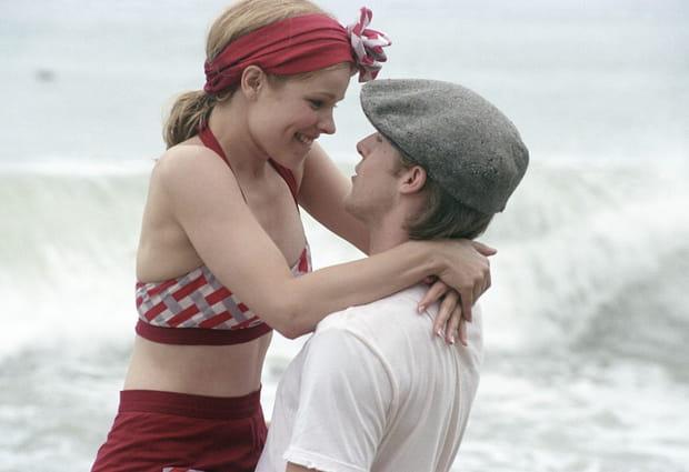 "Rachel McAdams et Ryan Gosling dans ""The Notebook"""