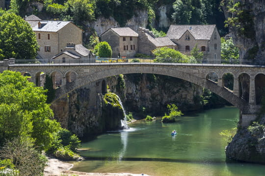 Les Gorges du Tarn, un canyon made in France