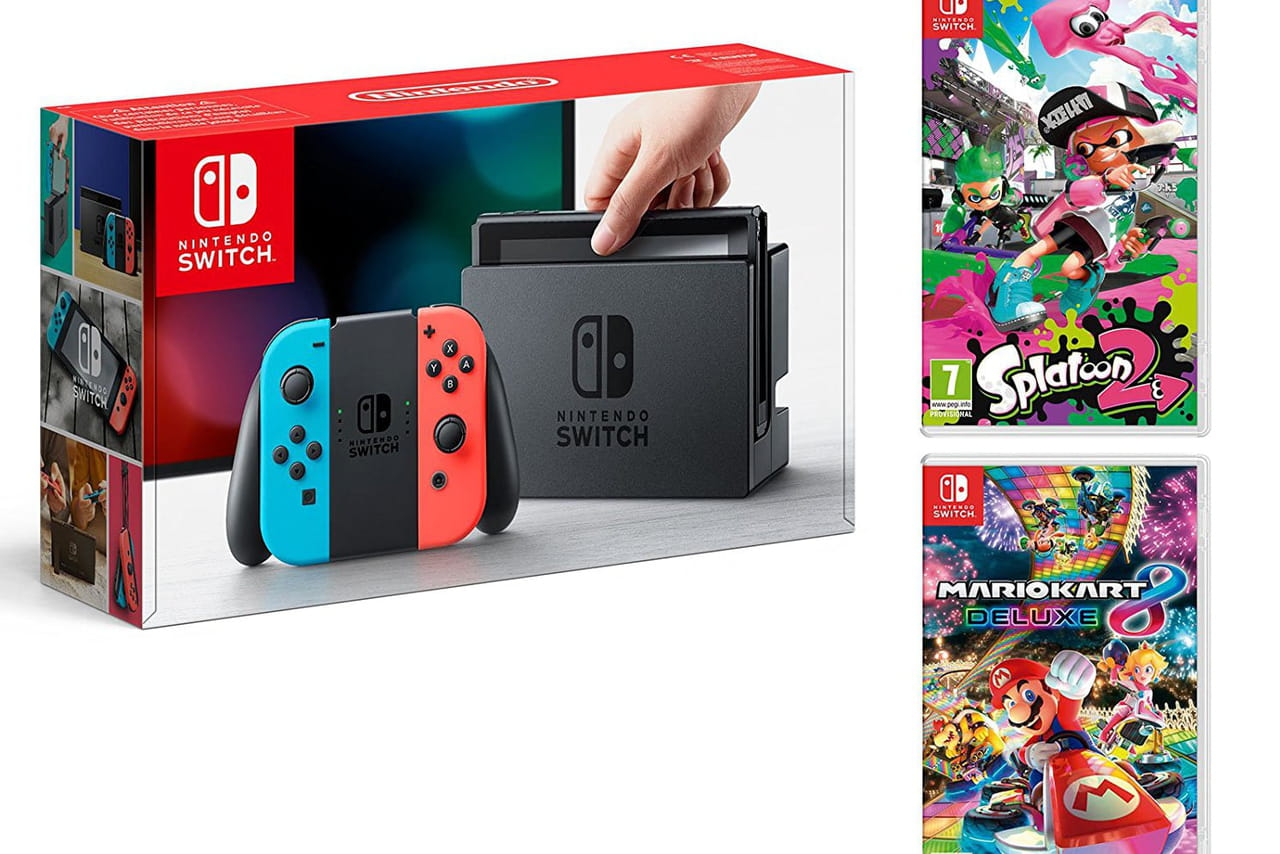 Cyber Monday / Black Friday Nintendo Switch : les meilleures promos