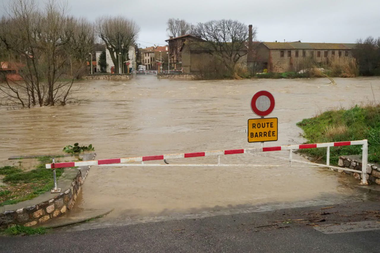 Tempête Gloria dans le sud de la France: près de 2.000habitants évacués