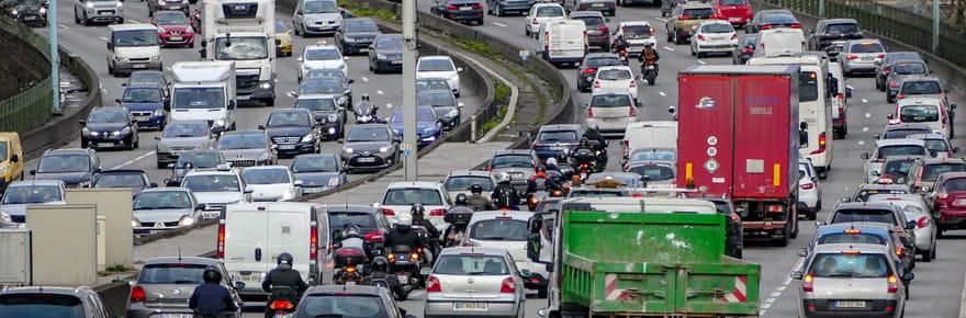 Trafic en Ile-de-France: des bouchons avant le confinement, quelles routes chargées?