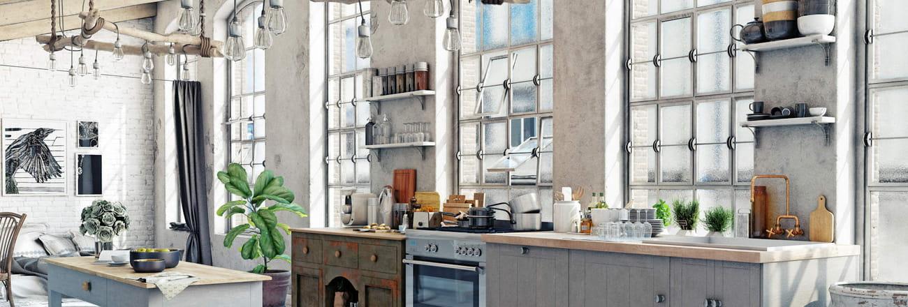 Inspirations pour une cuisine maison de campagne modernisée