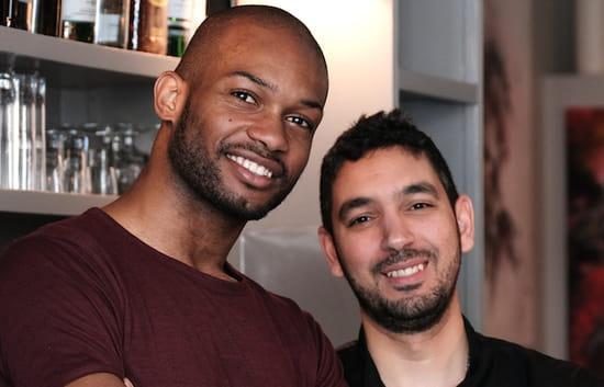 Restaurant : L'Archimède  - Larry Battet et Ahmed El Idrissi, deux anciens de la Closerie des Lilas, se sont associés pour ouvrir LArchimède -   © www.bigbouffe.com