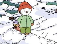 T'choupi et ses amis : L'abominable bonhomme de neige