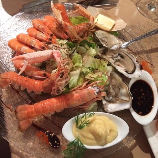Entrée : Chez Gaetan  - Assiette de la mer super -