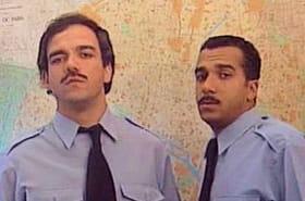 Les Inconnus : le commissariat de police