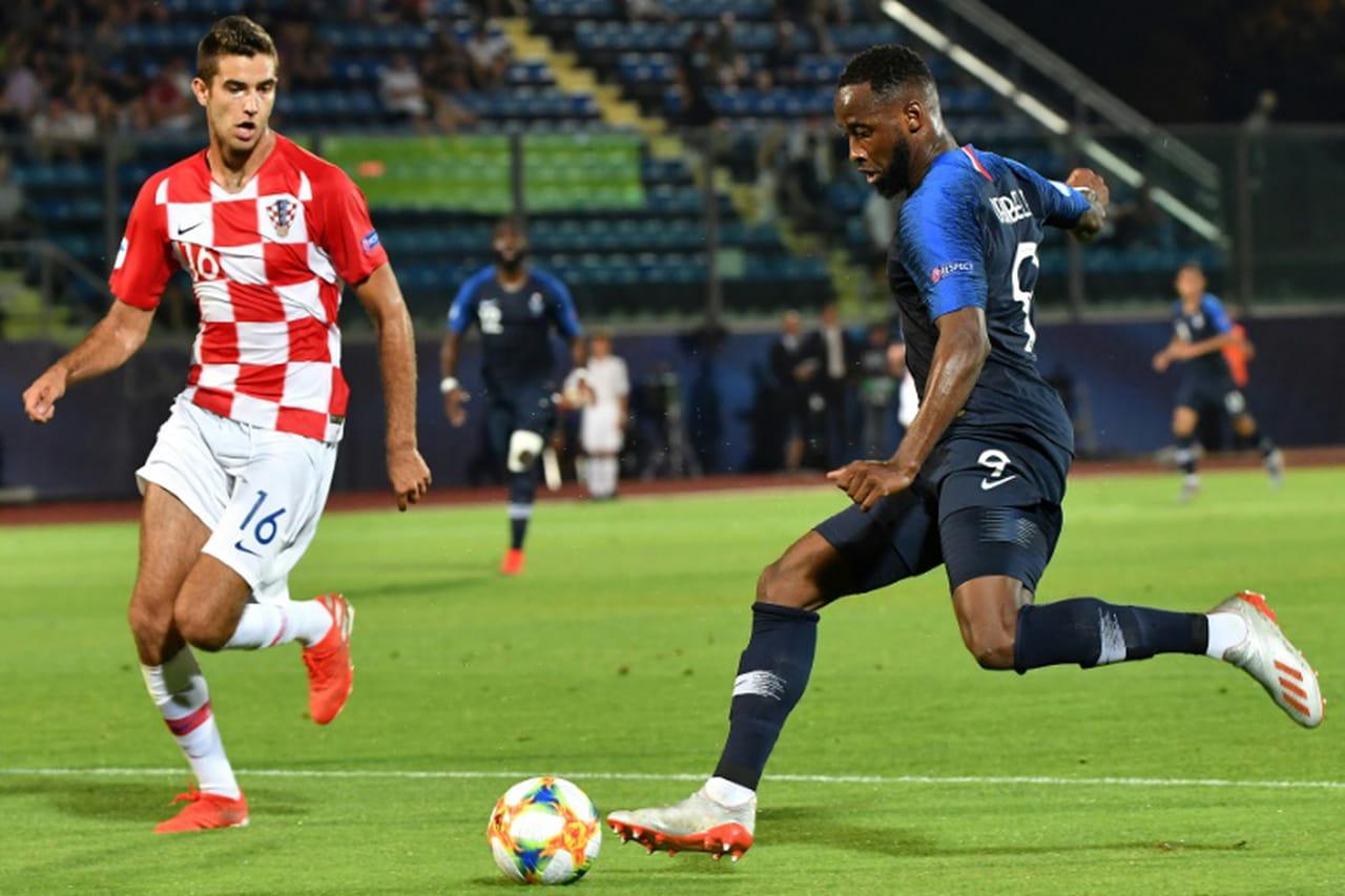 Euro-Espoirs: la France bat la Croatie 1-0et se rapproche d'une qualification en demi-finales