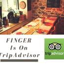 , Restaurant : LE FINGER  - Flyer -   © Finger