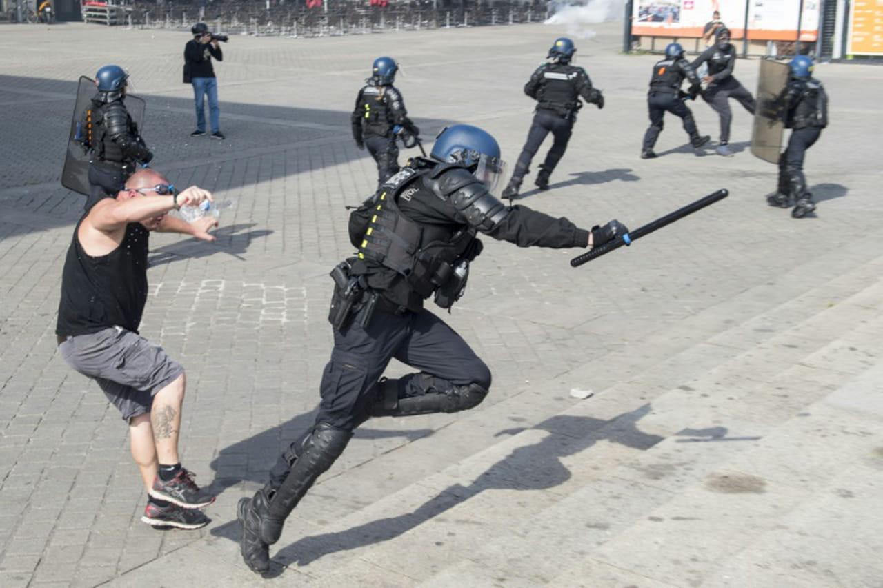 """""""Gilets jaunes"""": 1.800manifestants à Nantes, des heurts avec la police"""