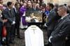 Mort de Dick Rivers: l'hommage des fans, Eddy Mitchell absent des obsèques