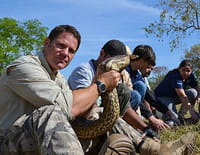 Mission monstres marins : Plongée avec l'anaconda