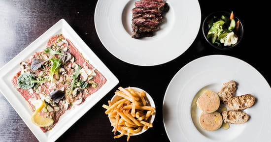 Plat : Boeuf and Cow   © boeuf and cow restaurant