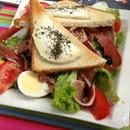 Plat : La Marina  - Salade de chèvre chaud -