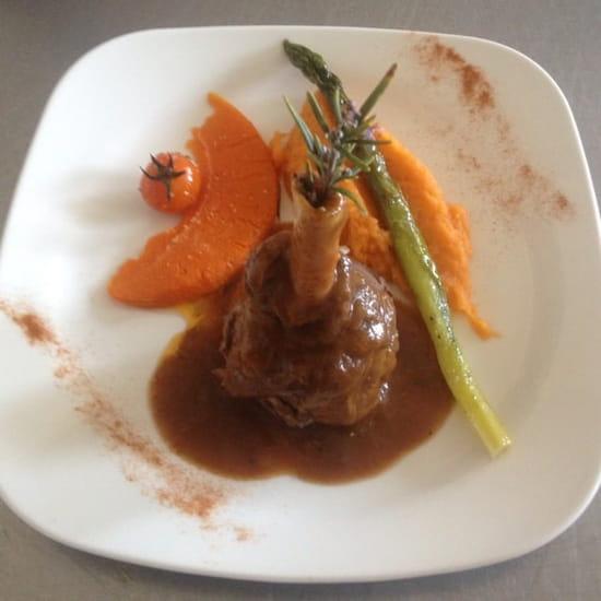 Plat : Restaurant Paul Itier  - Une souris d'agneau  -