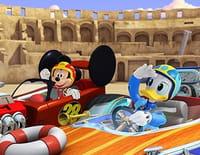 Mickey et ses amis : top départ ! : Les bolides-montgolfières. - Partie de pêche