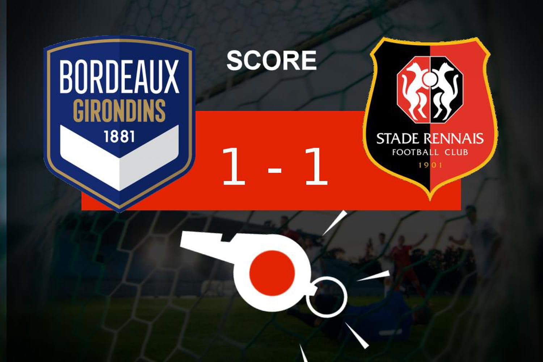 Bordeaux - Rennes: les Girondins de Bordeaux n'a pas fait la différence, les moments clés du match