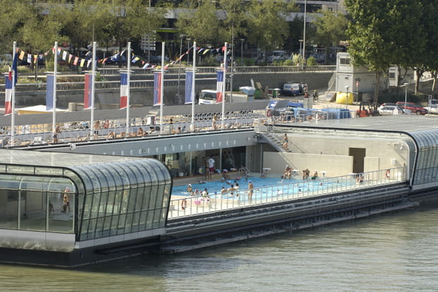 Piscine josephine baker xiiie arrondissement - Piscine paris 8eme arrondissement ...