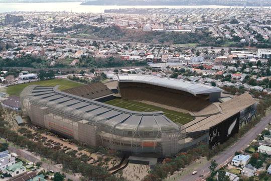Les 12 stades de la Coupe du monde de rugby en Nouvelle-Zélande