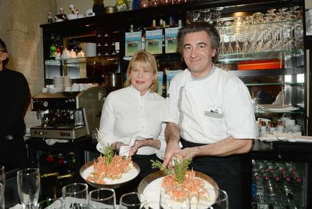 Ghislaine Arabian et son restaurant