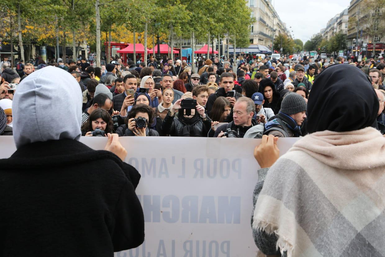 Marche contre l'islamophobie ce dimanche à Paris : une manifestation qui divise