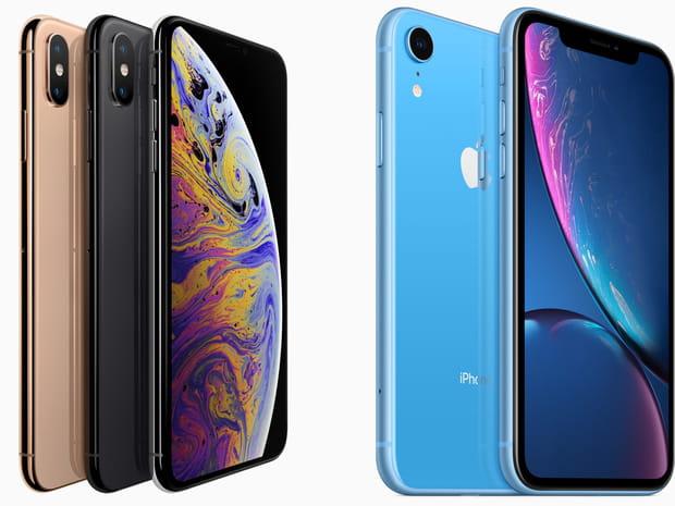 iPhone XS, XS Max et XR, découvrez les nouveaux smartphones d'Apple