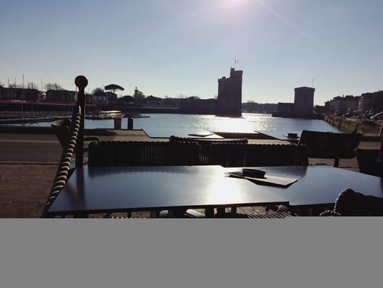 , Restaurant : La Grand Rive  - Vue de la terrasse -