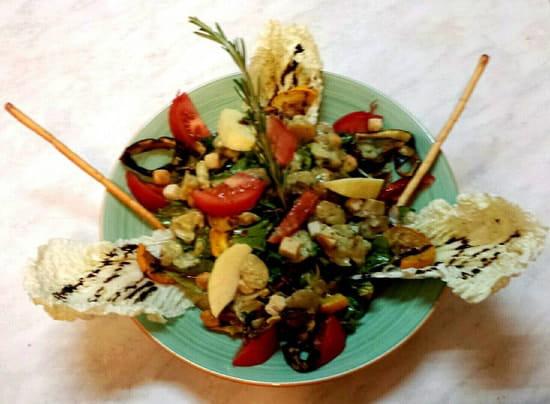 Plat : Restaurant Le Relais d'Ayen  - La végétarienne -