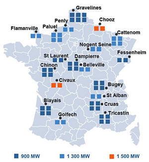 La France 1er Parc Nucl 233 Aire D Europe