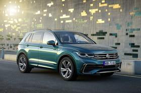 Le Volkswagen Tiguan restylé en images
