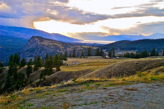 La vallée de l'Okanagan