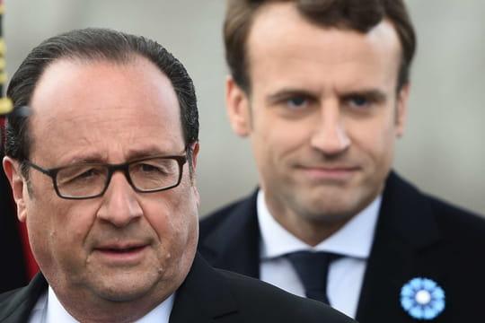 François Hollande: ses petites phrases venimeuses contre Macron