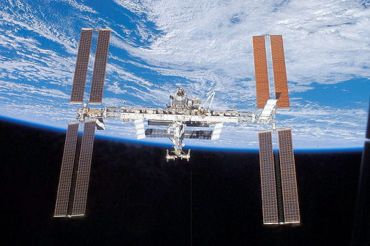 Une station spatiale internationale