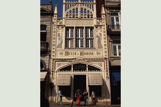 La Livraria Lello de Porto