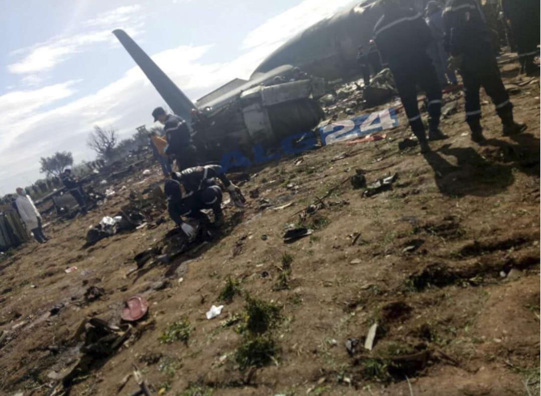 Crash d'avion en Algérie