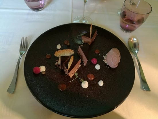 Dessert : L'Hostellerie d'Acquigny