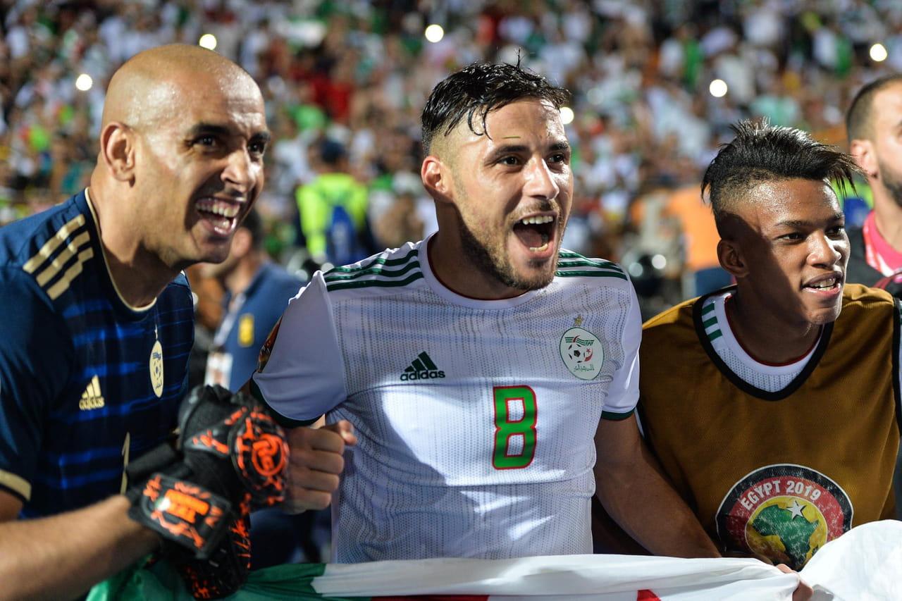 CAN: effervescence en Algérie... et en France avant la finale
