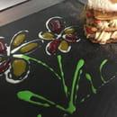 Dessert : Le Makia  - Mille feuille aux fraises -   © bruno hernandez
