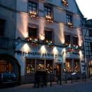 Restaurant : Au Lion d'Or  - La façade du restaurant -