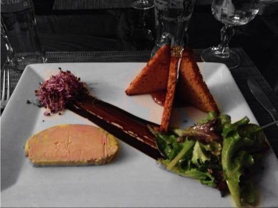 Entrée : Mas des Anges  - Foie gras maison  -