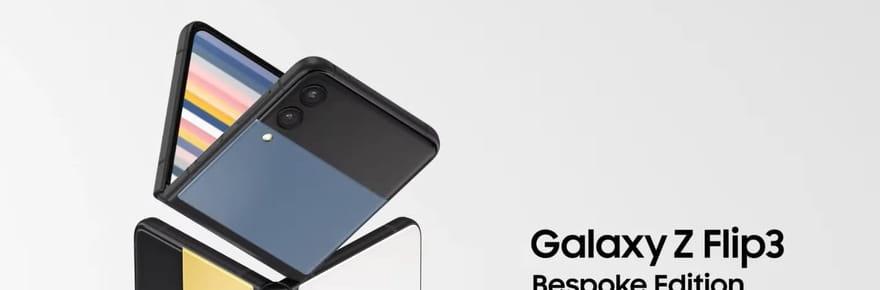 Samsung Galaxy Z Flip 3: découvrez le modèle Bespoke Edition