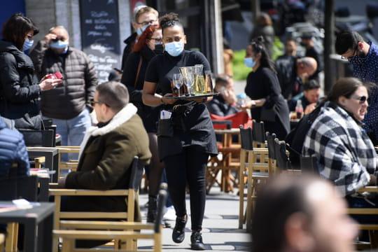 Restaurant et Covid: réouverture des terrasses le 19mai, à 50% ou plus