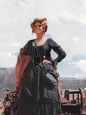 Claudia Cardinale dans le film Il était une fois dans l'Ouest