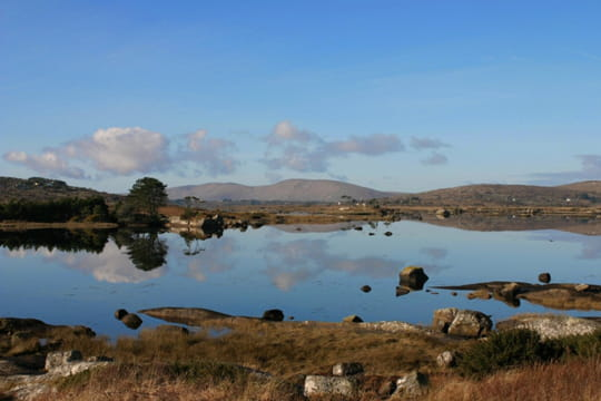 Le lac de Clifden
