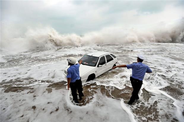 L'ouragan Bolaven fait des ravages en Asie