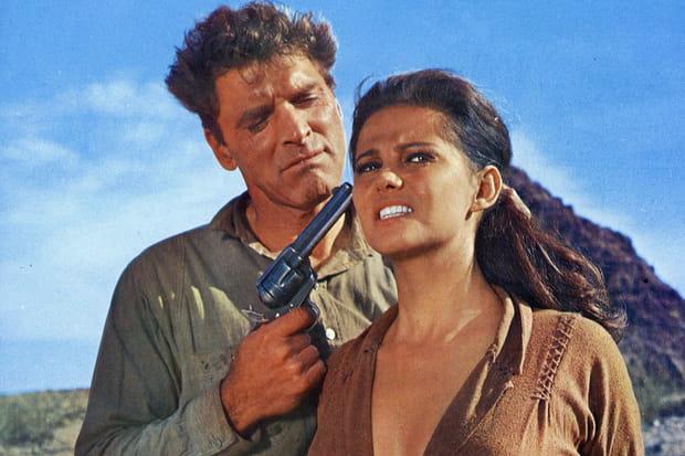 Claudia Cardinale dans Il était une fois dans l'Ouest en 1968
