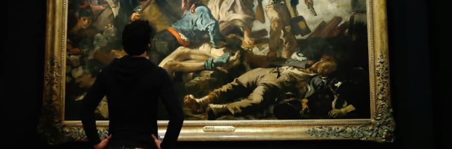 """Delacroix après """"La Liberté guidant le peuple"""": une rétrospective au Louvre"""