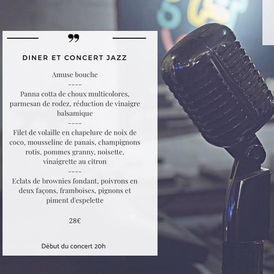 Restaurant : Racine Café  - soirée jazz -   © Racine café