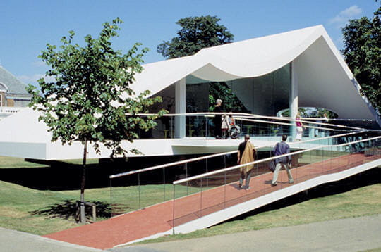 Le pavillon 2003d'Oscar Niemeyer