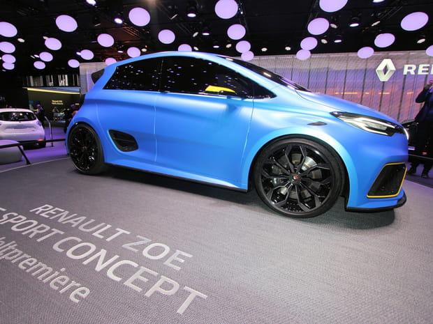 Renault Zoé E-Sport Concept: la Zoé électrisée en images
